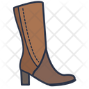 Women Boot Boot Clothes Icon