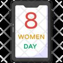 Women Day App Mobile App Phone App Icon