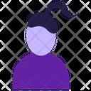 Women hairstyle Icon
