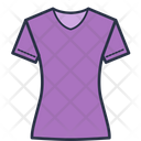 Women Half Tshirt Icon