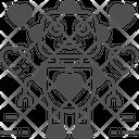 Women Robot Robot Robotics Icon
