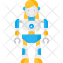Women Robot Robot Robotics Icon
