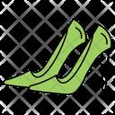 Women Sandals Footwear Icon