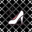 Women Shoe High Heel Icon
