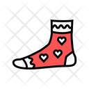 Women Sock Color Icon