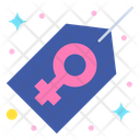 Women Tag Label Price Icon