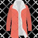 Women Topcoat Coat Icon