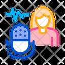 Women Voice Testing Icon