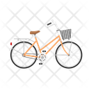Womens Bicycle Icon