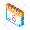 Day Woman Date Icon