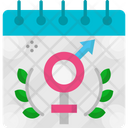 Womens Equality Day Day Event Icon