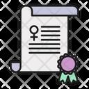 Women Rights Declaration Icon