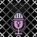 Womens Voice Icon