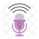 Womens Voice Icon