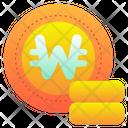 Won Korea Coin Icon