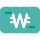 Won Money Currency Icon