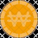 Won Coin Cash Icon