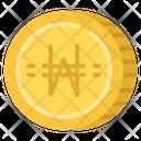 Won Cash Coin Icon