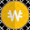 Won Coin Icon