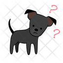 Doubt Question Dog Icon