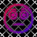 Wonder Face Emotion Icon