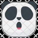 Wondering Panda Emoji Icon
