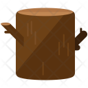 Stump Wood Tree Icon