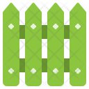 Wood Fence Equipment Icon
