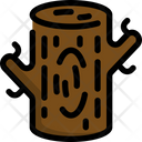 Wood Autumn Season Icon