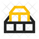 Wood Construction Materials Icon