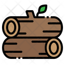 Wood Log Nature Icon
