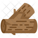Wood Trunk Log Icon