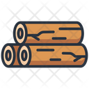Wood Log Tree Icon