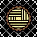 Wood Timber Sawmill Icon