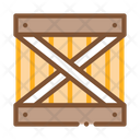 Wood Ban Warehouse Icon