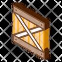 Wood Ban Warehouse Icon