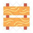 Wood Wooden Barrier Barricade Icon