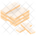 Wood Block Game Puzzle Game Building Blocks Icon