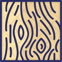Wood Board Texture Wood Icon