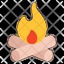 Wood Burning Icon