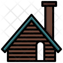 Wood Cabin Icon