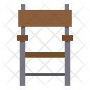 Wood Chair Chair Seat Icon