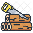 Sawing Saw Tool Icon