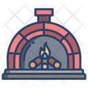 Wood Fire Oven Icon
