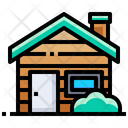 Wood House Wooden House Home Icon