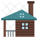 Wood House Cabin Wood Cabin Icon