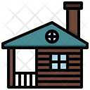 Wood House Icon