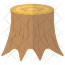Wood Log Tree Trunk Wood Bark Icon