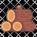Wood Logs Icon