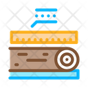 Wood Trunk Size Icon